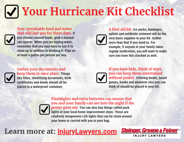 Your Hurricane Kit Checklist