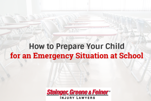 How to Prepare Your Child for an Emergency Situation at School