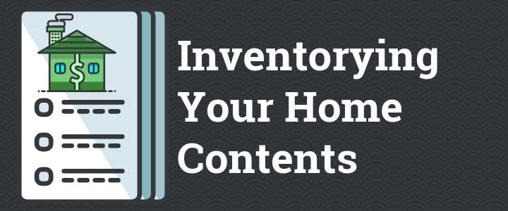 Inventorying Your Home Contents