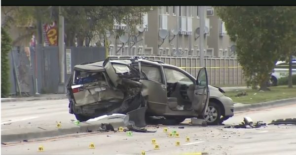Hit and Run in Coral Gables 1 dead 6 injured
